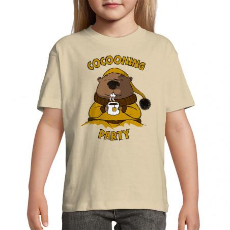"Tee-shirt enfant ""Cocooning..."