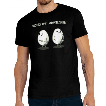 "Tee-shirt homme ""Les œufs..."