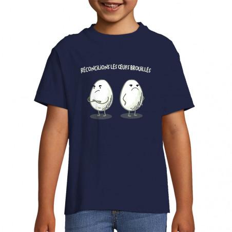 """Tee-shirt enfant """"Les œufs..."""