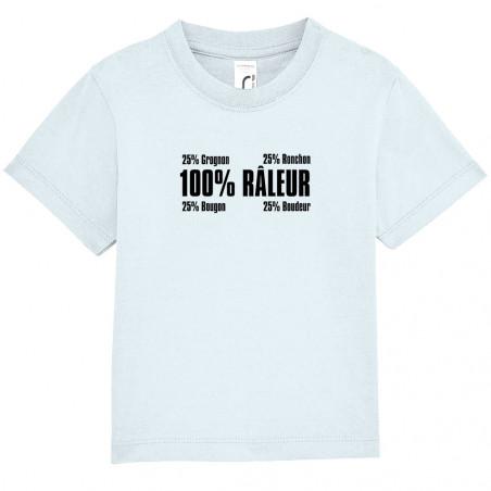 """Tee-shirt bébé """"Râleur"""""""