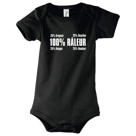 "Body bébé ""Râleur"""