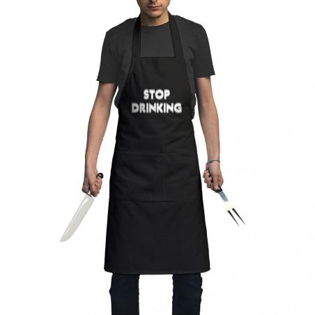 "Tablier unisexe ""Stop..."