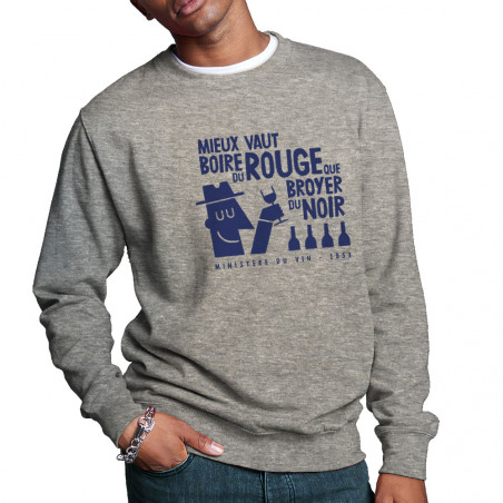 """Sweat homme col rond """"Mieux..."""