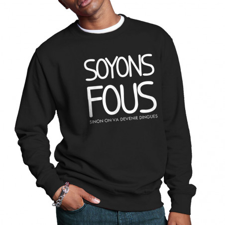 Sweat homme col rond...