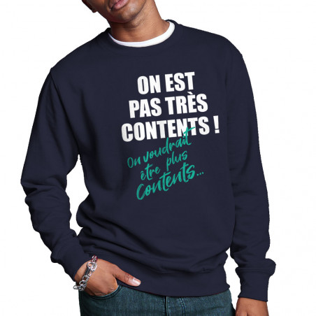 """Sweat homme col rond """"Pas..."""