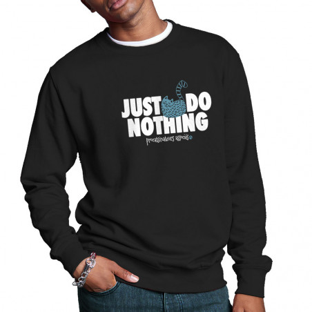 """Sweat homme col rond """"Just..."""