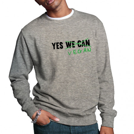 """Sweat homme col rond """"Yes..."""