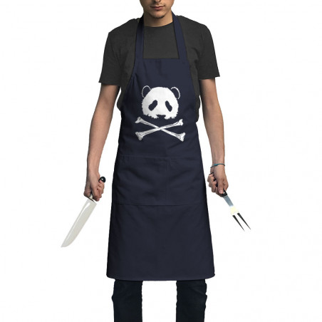 "Tablier unisexe ""Panda Pirate"""