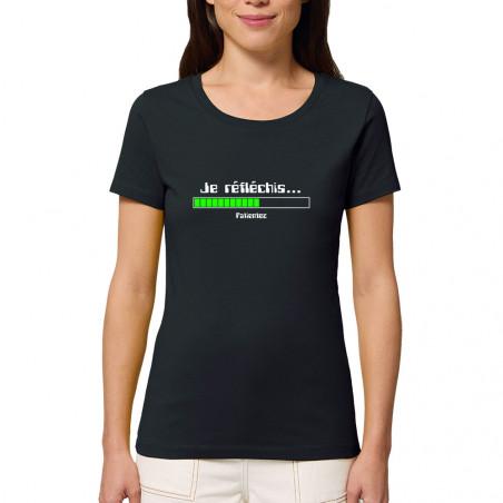 """T-shirt femme coton bio """"Je..."""