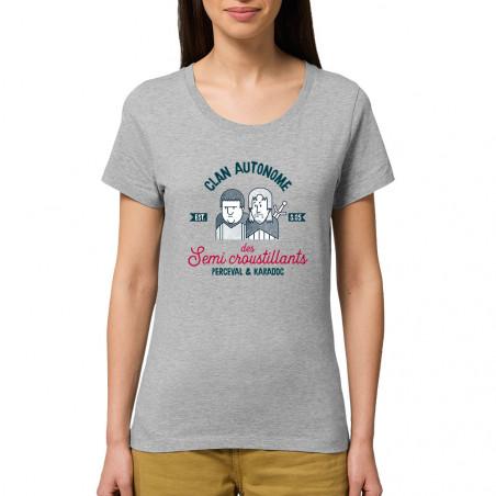 T-shirt femme coton bio...