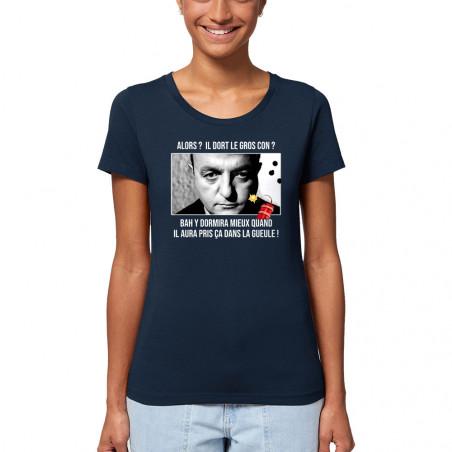 """T-shirt femme coton bio """"Il..."""