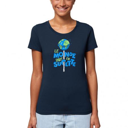 """T-shirt femme coton bio """"Le..."""