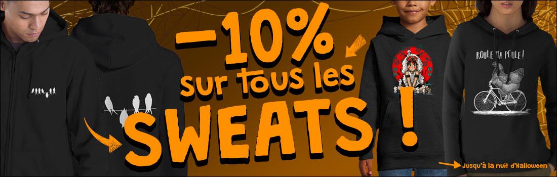 -10% sur les sweats
