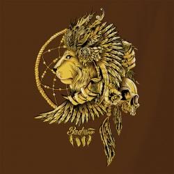 Bad River - Indian King Lion