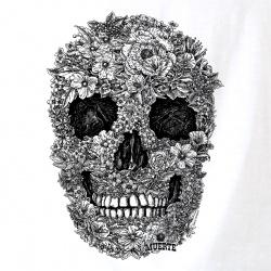 Santa Muerte - Flower Skull