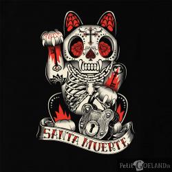 Santa Muerte - Lucky Cat