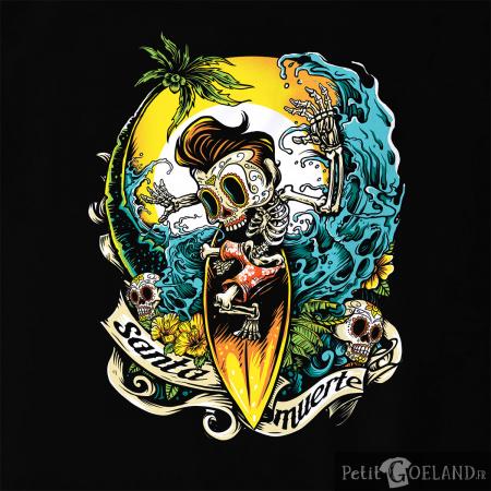Santa Muerte - Surfin Skull