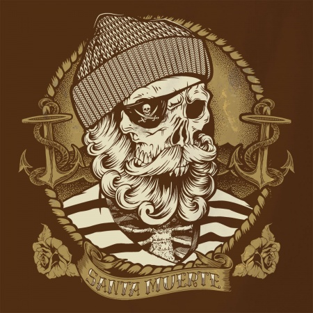 Santa Muerte - Dead Fisherman