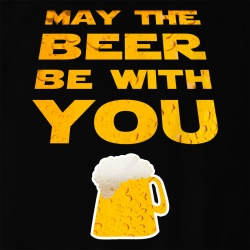 May the beer be with you
