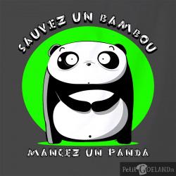 Sauvez un bambou Mangez un panda