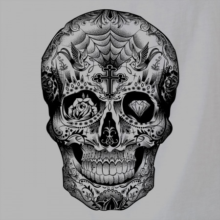 Tattooed Skull