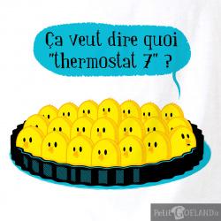 Ça veut dire quoi thermostat 7