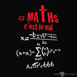 Les maths c'est le mal