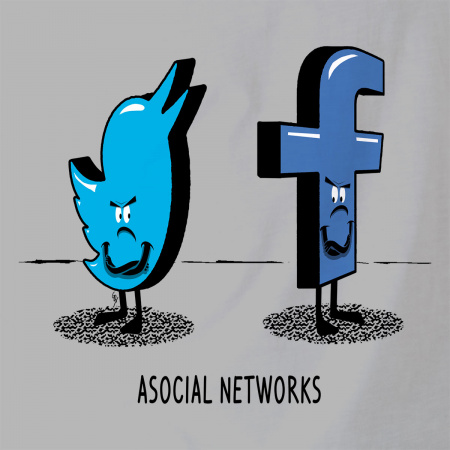 Asocial Networks