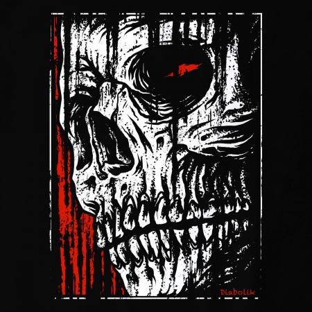 Diabolik - Hatched Skull