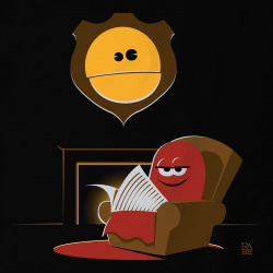 Pacman Hunting Trophy