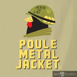 Poule Metal Jacket