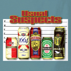 Usual Suspects beer