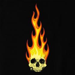 Diabolik - Skull in Fire