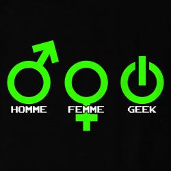 Homme Femme Geek