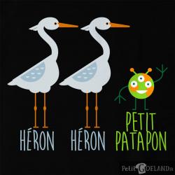 Héron Héron Petit Patapon