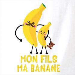 Mon fils ma banane