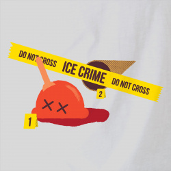 Ice Crime Do not cross