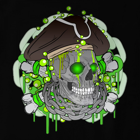 Acid Pirate green
