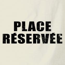 Place réservée
