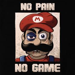 No Pain No Game Mario