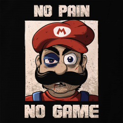 No Pain No Game Mario