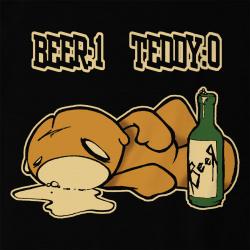 Beer 1 Teddy 0