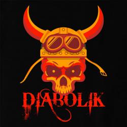 Diabolik - Viking Biker Skull