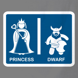 Toilet - Princess & Dwarf