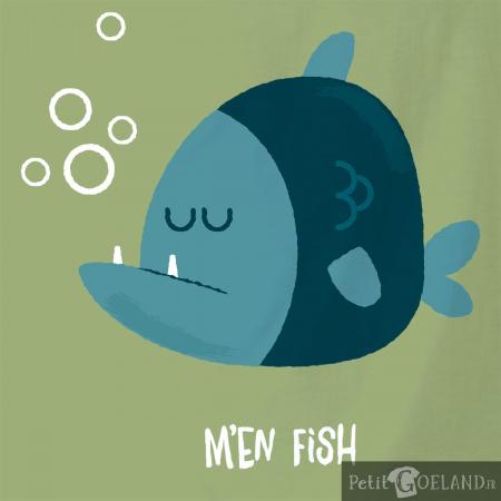 M'en fish (bleu)
