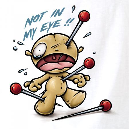 Not in my eye