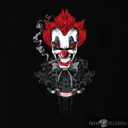 Santa Muerte - Red Hair Clown