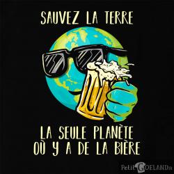 Sauvez la terre Bière