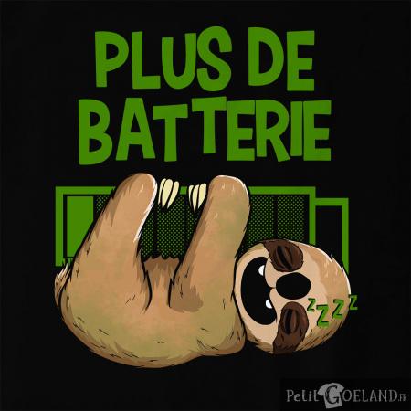 Plus de batterie Paresseux