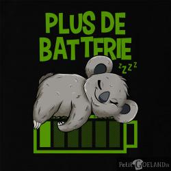 Plus de batterie koala